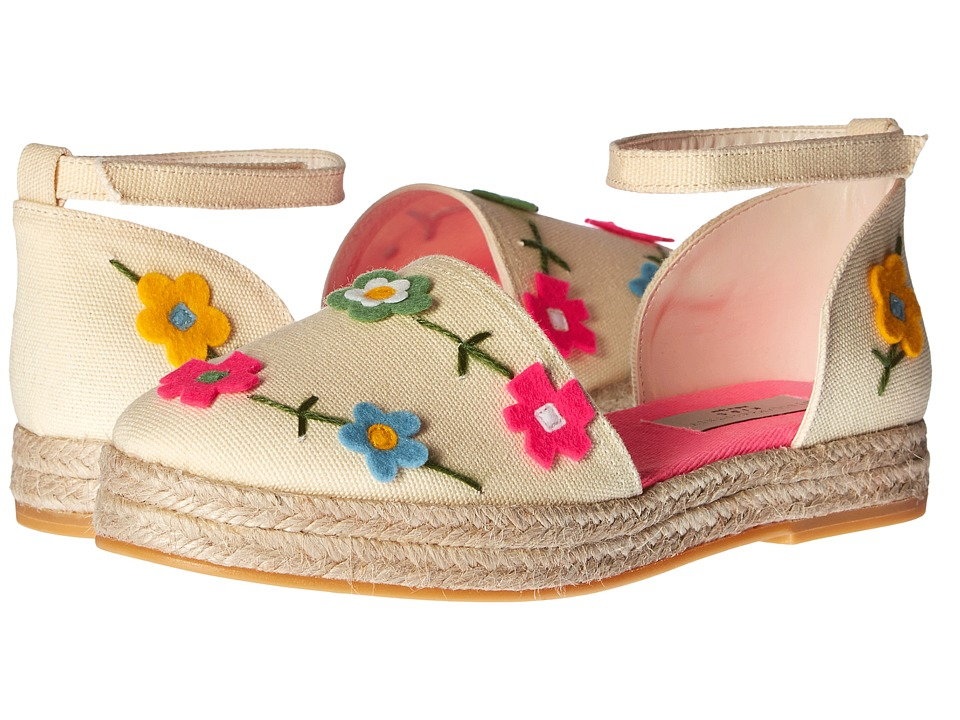 Stella McCartney Kids - Flora Canvas Espadrilles with Floral Appliques