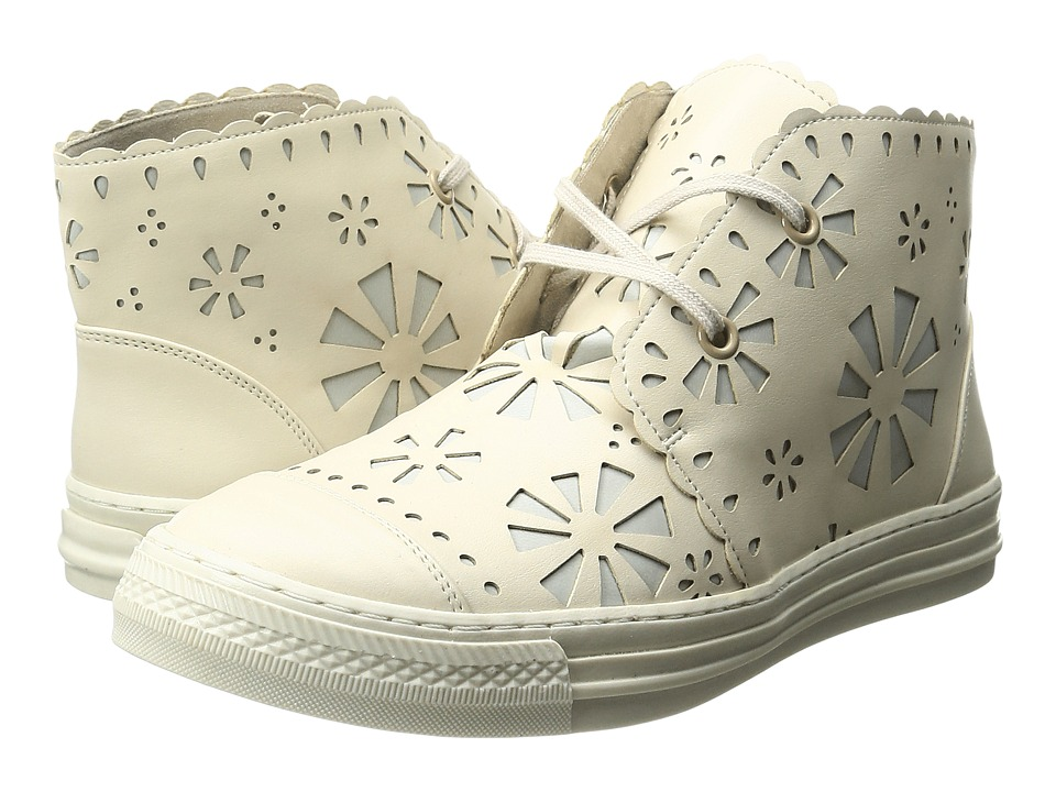 Stella McCartney Kids - Alonzo High Top Daisy Cut Out Sneakers