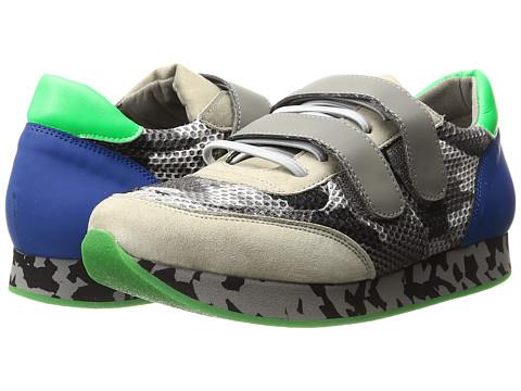 Stella McCartney Kids Whoosh Velcro Strap Sneakers with Mesh Detail (Little Kid/Big Kid)