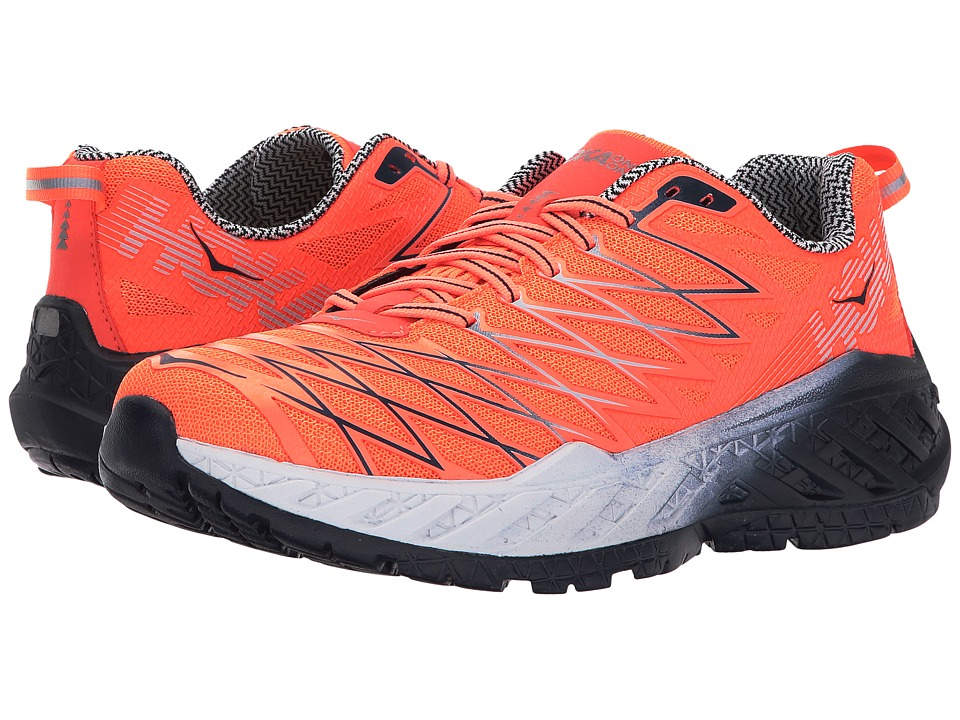 Hoka One One Clayton 2 (Neon Coral/Nimbus Cloud) Women