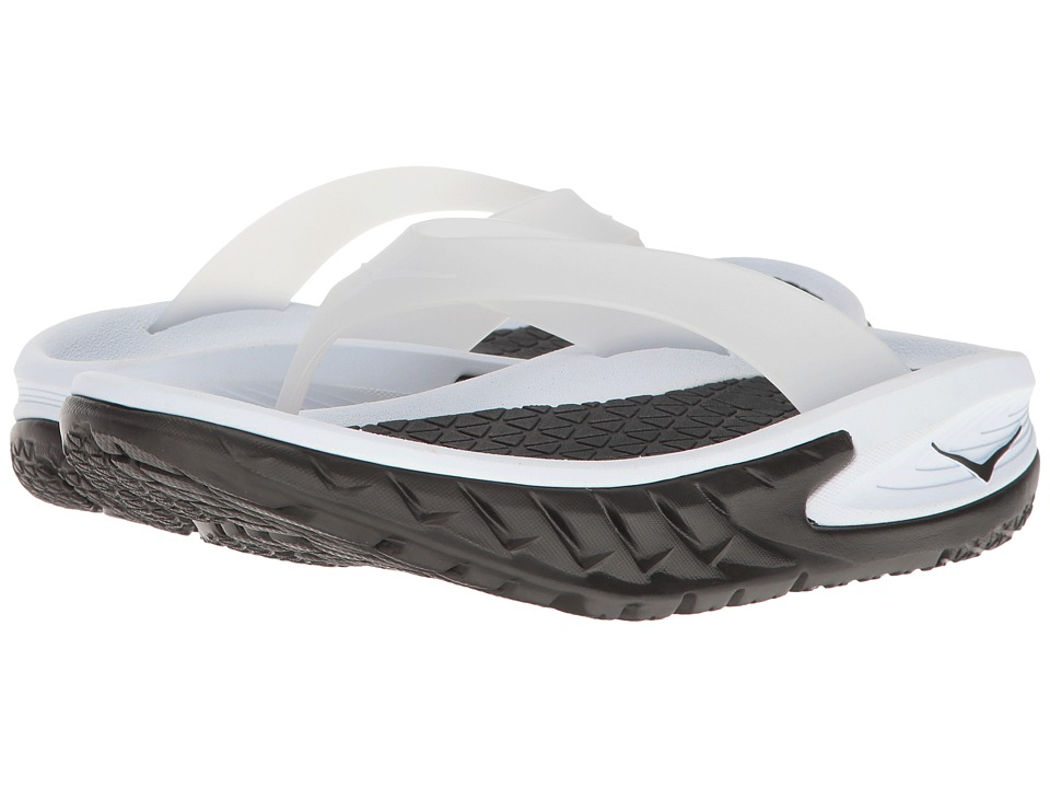 Hoka One One Ora Recovery Flip (Black/White) Women
