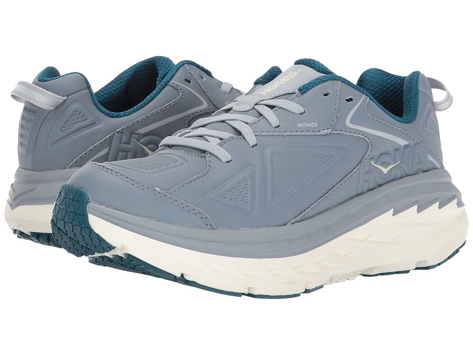 Hoka One One Bondi Leather (Tradewinds) Women's Running Shoes