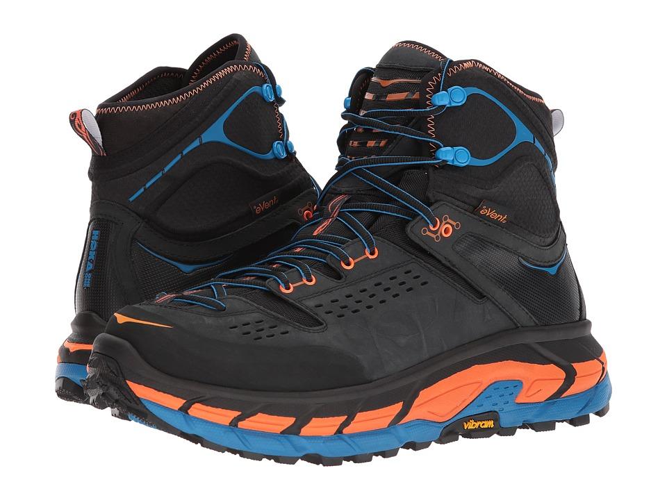 Hoka One One - Tor Ultra Hi WP (Anthracite/Orange Clown Fish) Mens Running Shoes