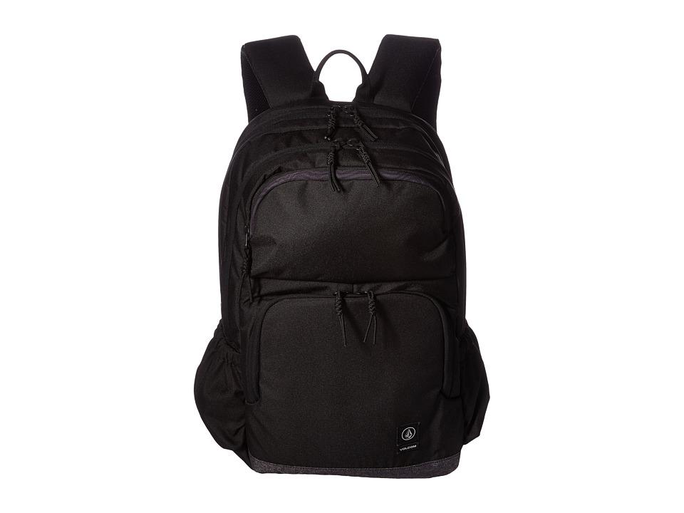 Volcom Roamer Backpack (Ink Black) Backpack Bags
