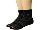 adidas Tiger Style High 2-Pack Quarter Socks