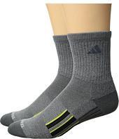 adidas - Climalite® X II 2-Pack Mid-Crew Socks