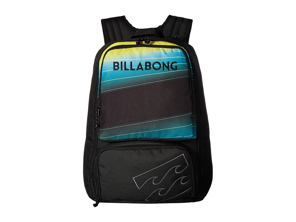 Billabong Juggernaught Pack (Black/Lime) Backpack Bags