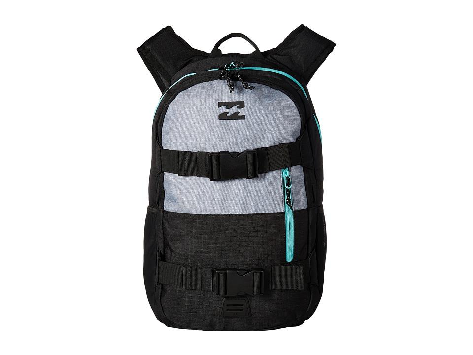 Billabong Command Skate Pack (Black/Mint) Backpack Bags