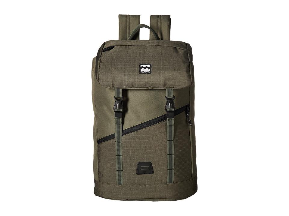 Billabong Track Pack (Military) Backpack Bags