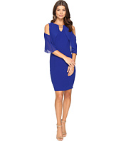 Sangria - Crepe Sheath Dress