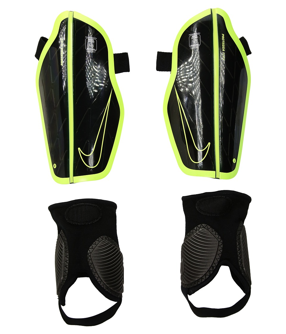Nike - Attack Stadium (Black/Volt/Black) Athletic Sports Equipment