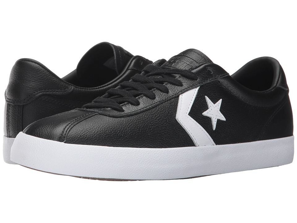 Converse Breakpoint Leather Ox (Black/White/Black) Men