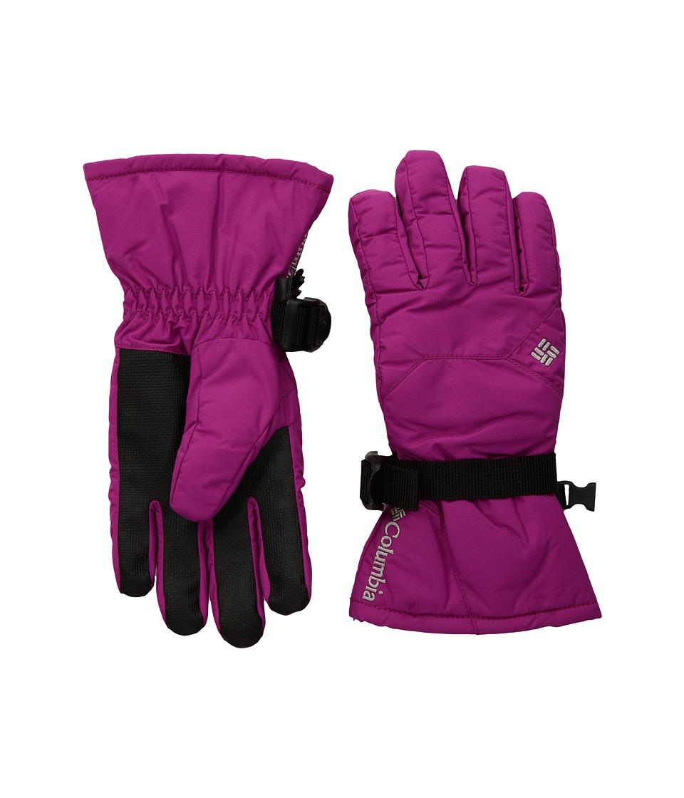 Columbia Whirlibird Gloves (Big Kids) (Deep Blush) Ski Gloves
