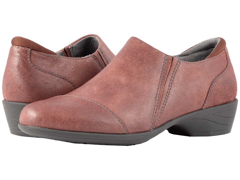 SoftWalk Charming (Burgundy Weathered Leather) Women