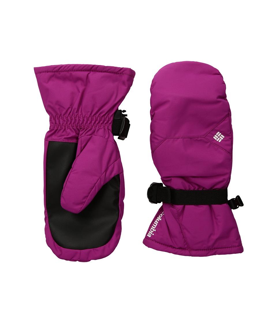 Columbia - Whirlibird Mitten (Big Kids) (Deep Blush) Ski Gloves
