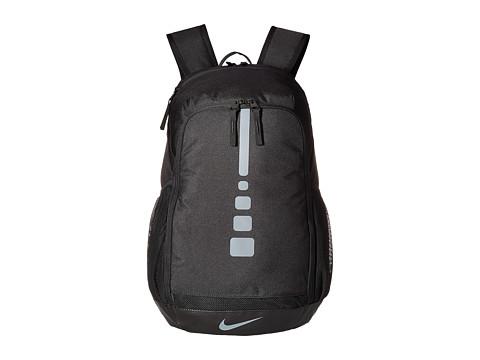Nike Hoops Elite Varsity Basketball Backpack - Black/Black/Cool Grey