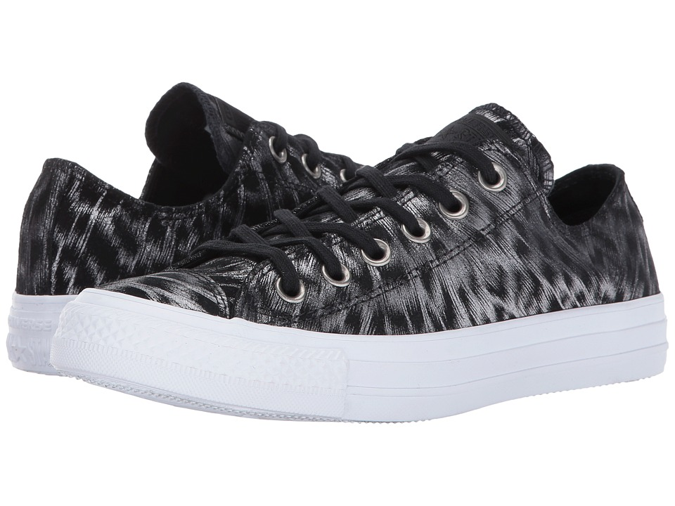 Converse Chuck Taylor All Star Ox (Black/Black/White) Women