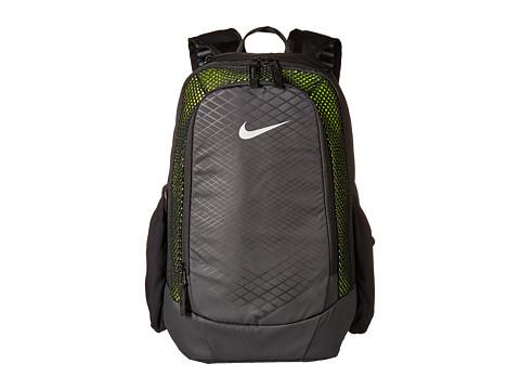 Nike Vapor Speed Training Backpack - Black/Volt/Metallic Silver