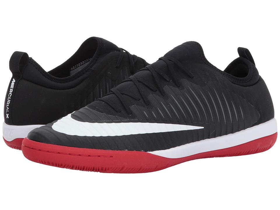 Nike MercurialX Finale II IC (Black/White/University Red/Dark Grey) Men