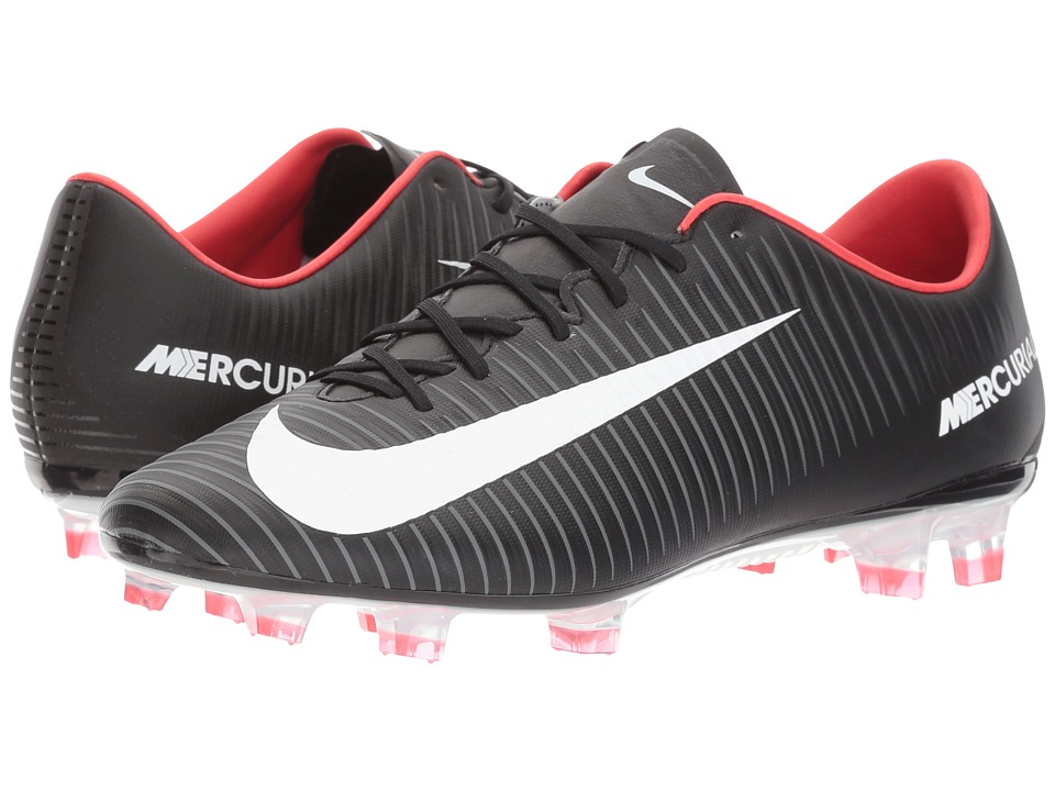 Nike Mercurial Veloce III FG (Black/White/Dark Grey/Unive...