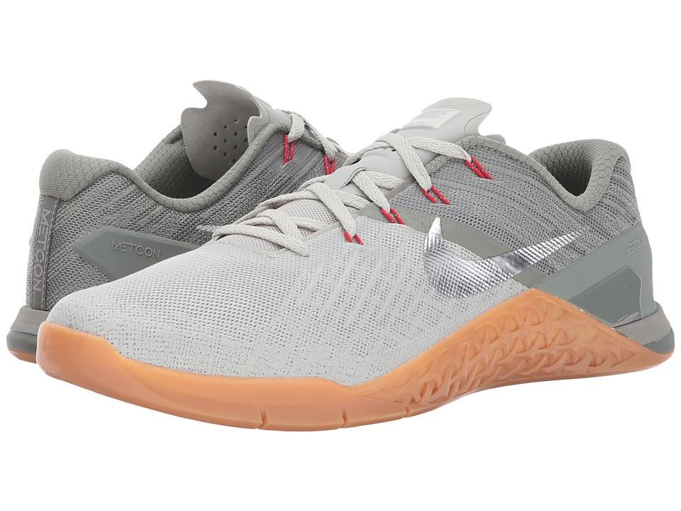 Nike Metcon 3 (Dark Stucco/Metallic Silver/Pale Grey) Men