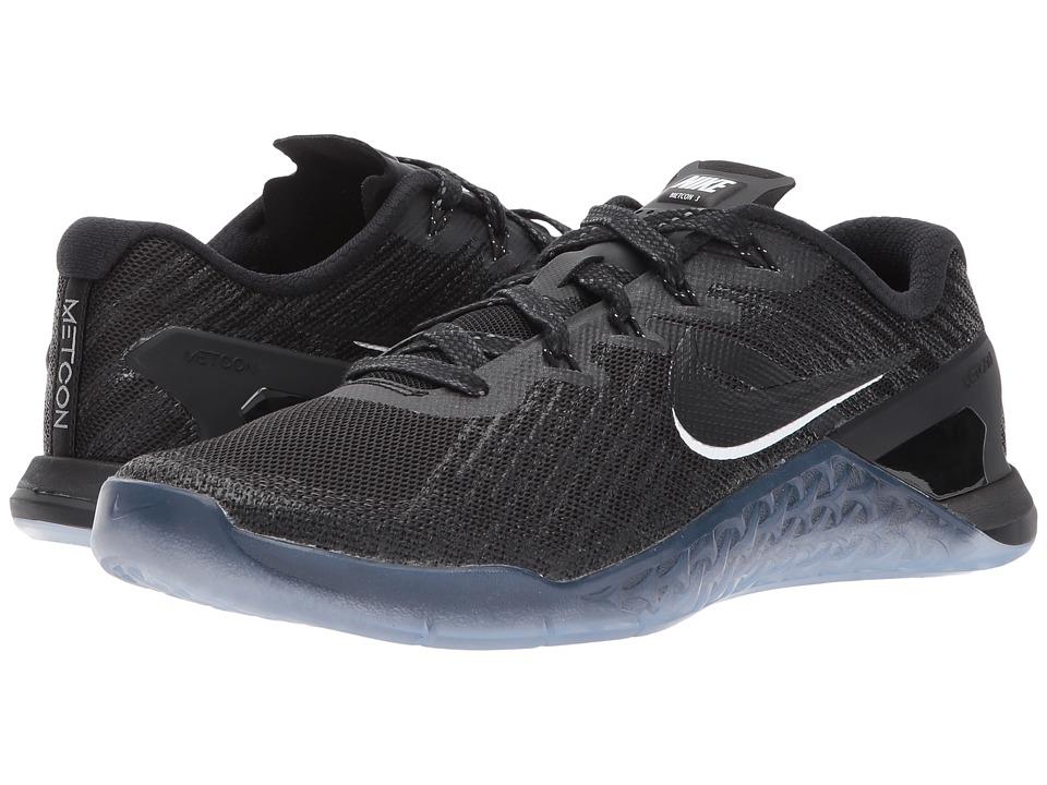 Nike Metcon 3 (Black/Black/White) Men