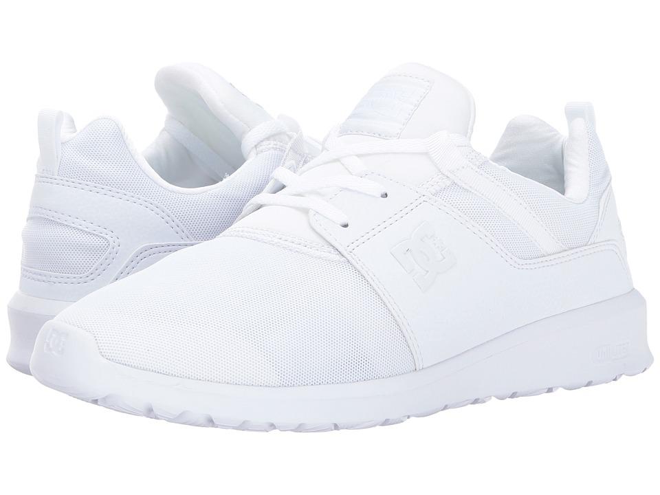 DC Heathrow (White/White) Skate Shoes