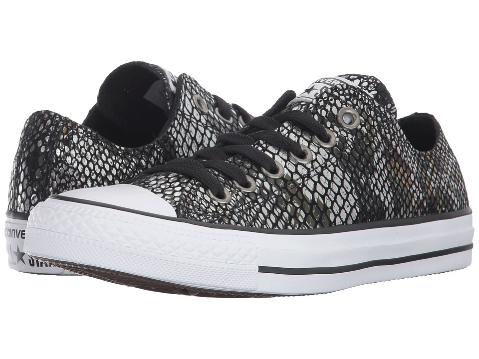Converse Chuck Taylor All Star Ox Fashion Snake (Black/Black/White) Women