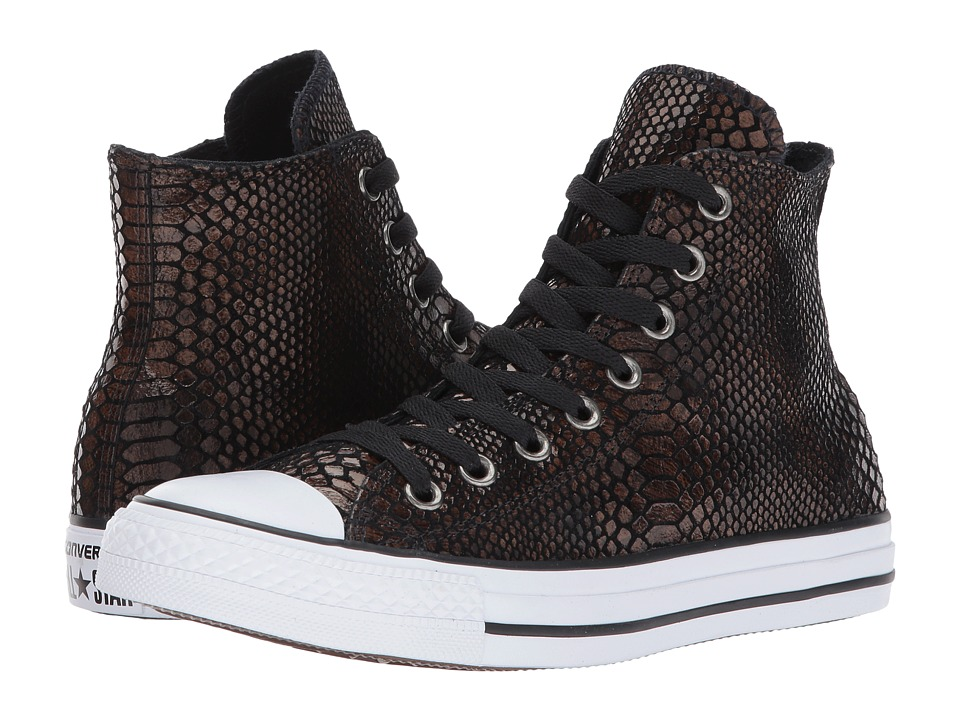 Converse Chuck Taylor All Star Hi Fashion Snake (Brown/Black/White) Women