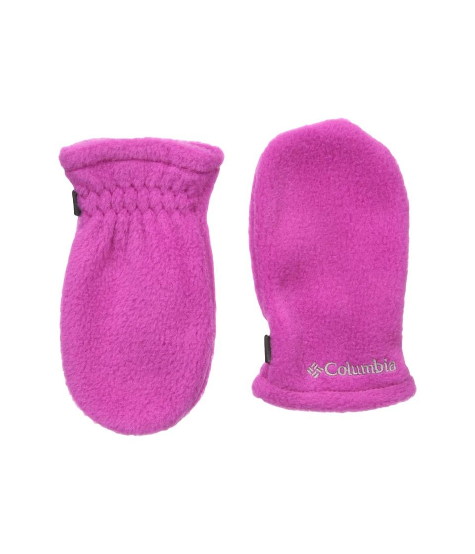 Columbia - Fast Trektm Mitten (Infant) (Deep Blush) Extreme Cold Weather Gloves
