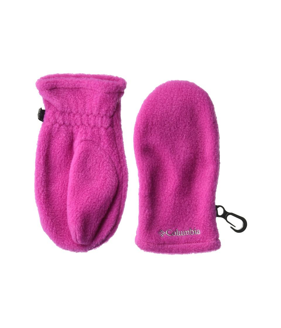 Columbia Fast Trektm Mitten (Toddler) (Deep Blush) Extreme Cold Weather Gloves