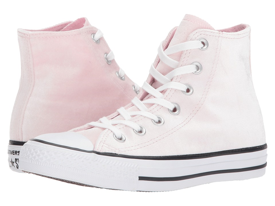 Converse Chuck Taylor All Star Hi Velvet (Arctic Pink/White/White) Women