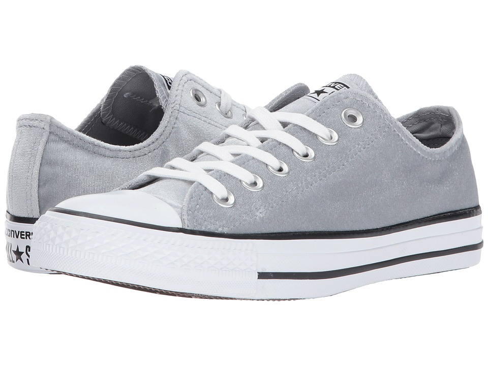 Converse Chuck Taylor All Star Ox Velvet (Wolf Grey/White/White) Women