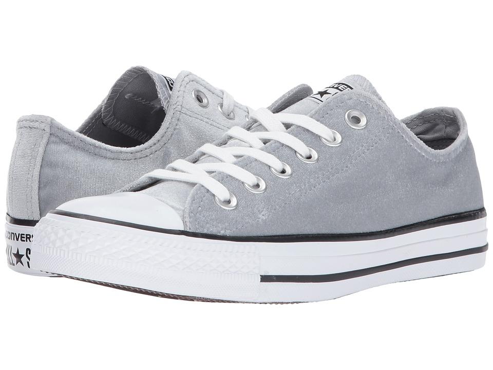 Converse Chuck Taylor All Star Ox Velvet (Wolf Grey/White/White) Women
