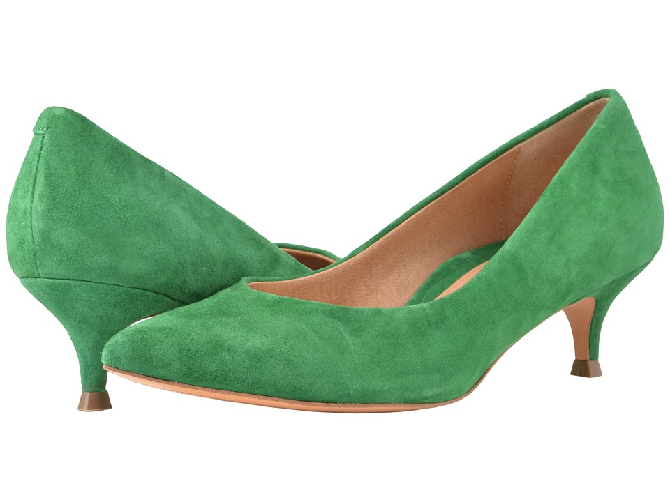 1950s Style Shoes VIONIC - Josie Emerald Womens 1-2 inch heel Shoes $139.95 AT vintagedancer.com