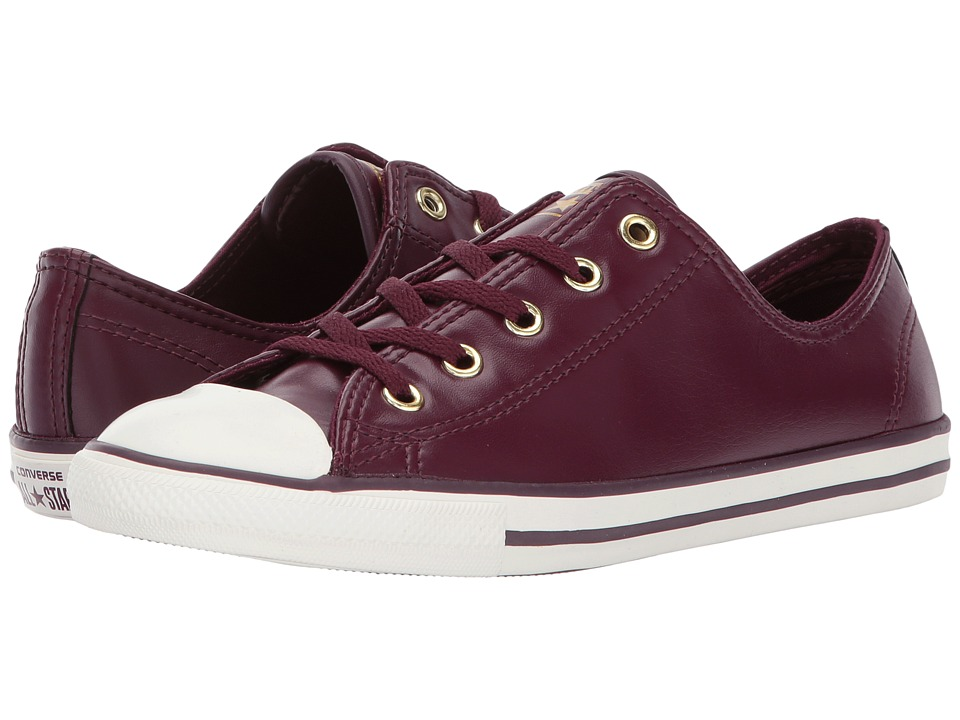 Converse Chuck Taylor All Star Dainty Ox Craft SL (Dark Sangria/Gold/Egret) Women