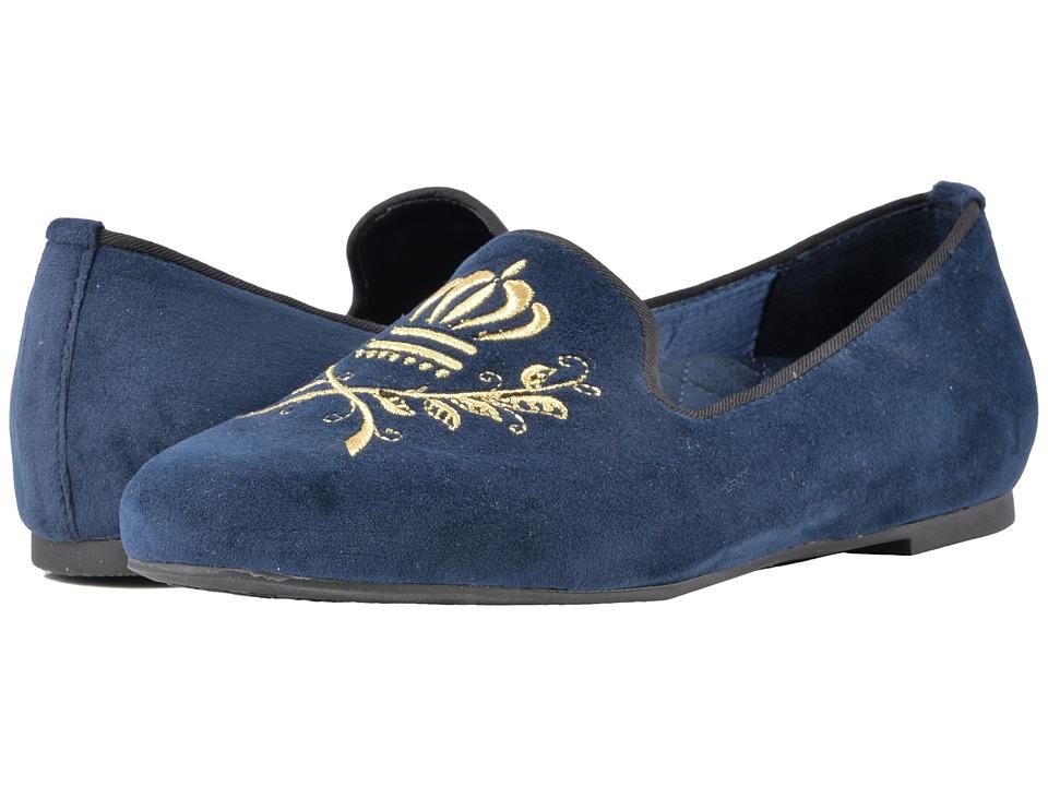 Vionic Romi (Midnight Velvet) Women's Dress Flat Shoes