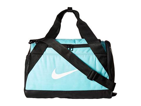 Nike Brasilia Duffel Extra Small - Light Aqua/Black/White