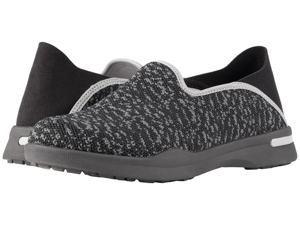 SoftWalk Simba (Black/Grey Knit) Women