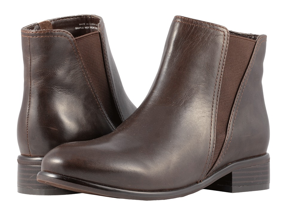 SoftWalk Urban (Dark Brown Smooth Leather) Women