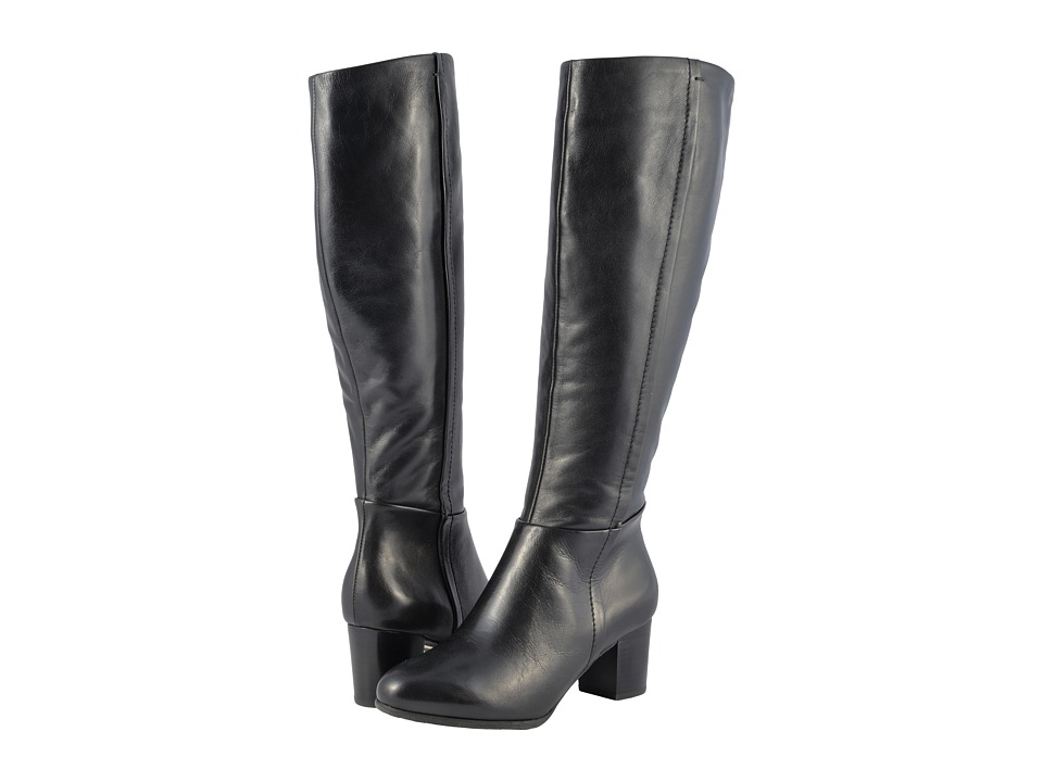 Vionic Tahlia (Black) Women's Dress Pull-on Boots