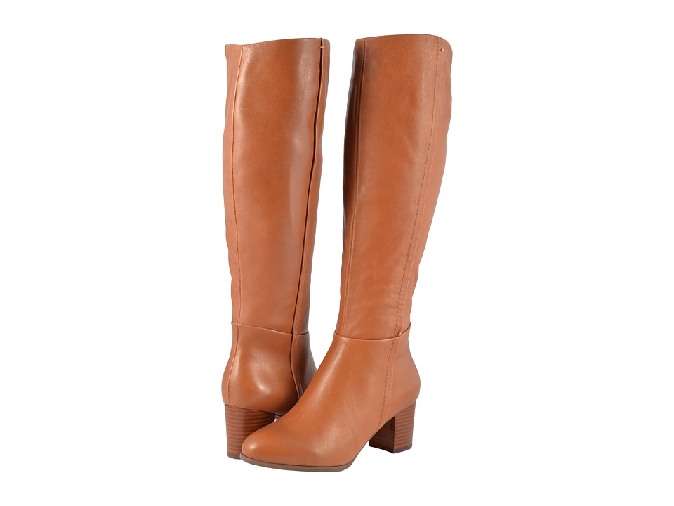 Vionic Tahlia (Brown) Women's Dress Pull-on Boots