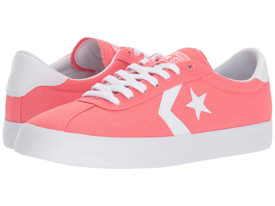 Converse Breakpoint Canvas Ox (Sunblush/White/White) Lace up casual Shoes
