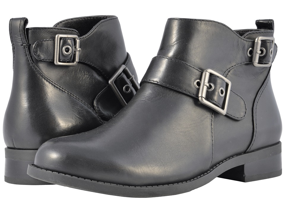 VIONIC Country Logan Ankle Boots (Black)