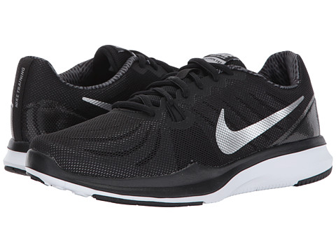 Nike In-Season TR 4 Print Trainers Womens Sports footwear Womens Trainers COLOUR-black/grey/white