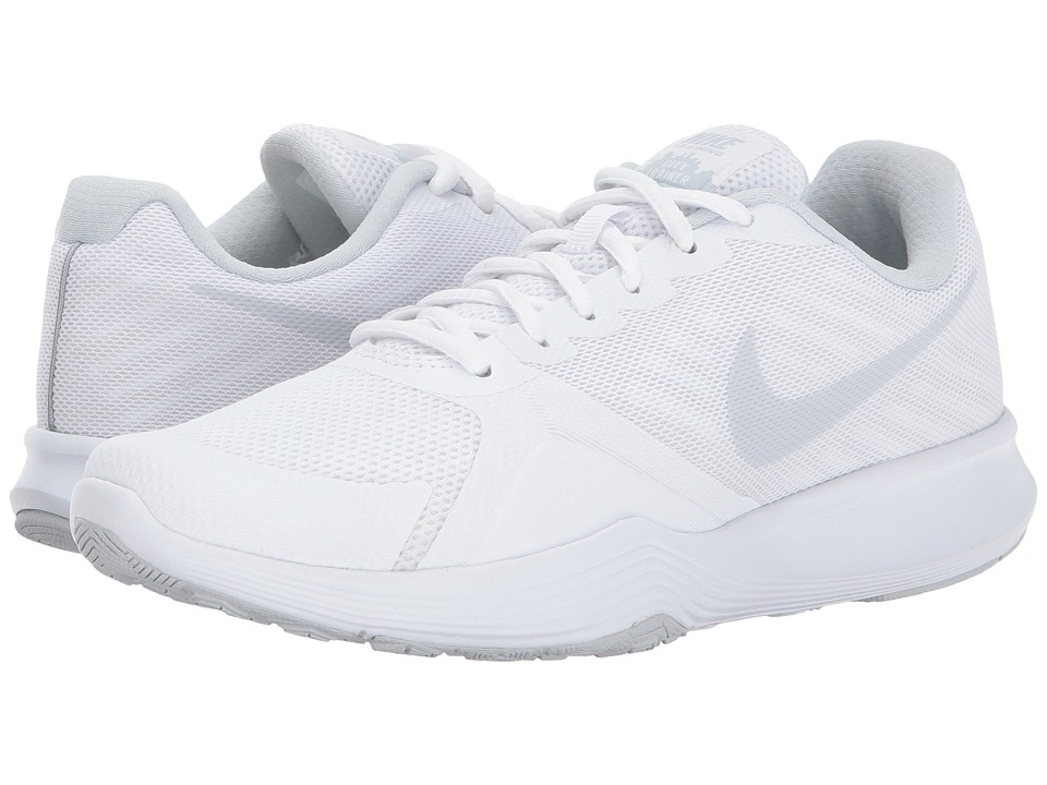 Nike City Trainer (White/Pure Platinum) Women's Cross Tra...