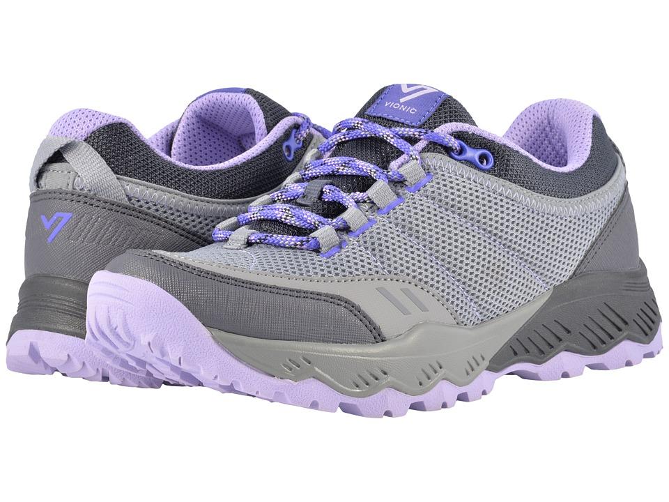 VIONIC McKinley Trail Walker (Grey/Lavender) Women