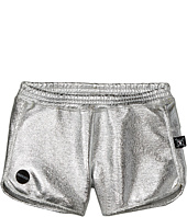 Nununu - Silver Gym Shorts (Little Kids/Big Kids)