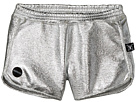Nununu - Silver Gym Shorts (Little Kids/Big Kids)