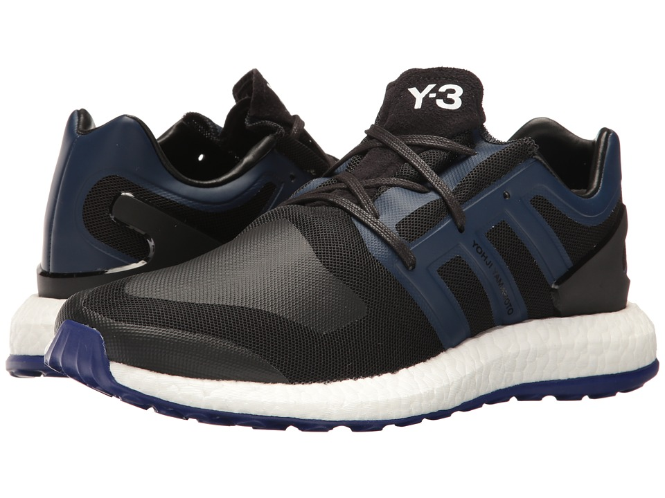 primeknit adidas y 3 purerenforcer hommes by8955 chaussures triple blanc / noir